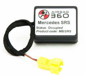 Mercedes CLS Passenger Seat mat Occupancy Sensor, occupied recognition sensor  emulator / bypass